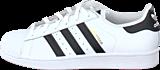 adidas Originals - Superstar Jr White/Black