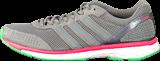 adidas Sport Performance - Adizero Adios Boost 2 M Grey/Flash Red/Flash Green