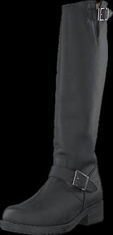 Johnny Bulls - High Zip Back Black Shiny Silver