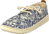 Timberland - Hookset oxford Blue Floral Canvas