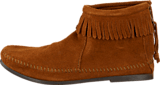 Minnetonka - Back Zipper Boot Brown