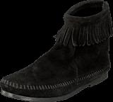 Minnetonka - Back Zipper Boot Black