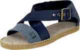 G-Star Raw - Aria Flat Salon Strap Dark Blue