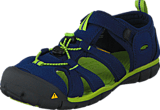 Keen - Seacamp II Cnx Youth Blue Depths/Lime