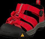 Keen - Newport H2 Infant Ribbon Red/Gargoyle