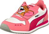Puma - Cabana Racer Tom & Jerry Kids Salmon Rose