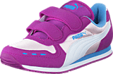 Puma - Cabana Racer Mesh V Kids Pink Dogwood-White