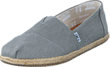 Toms - Seasonal Classics Drizzle Grey Washed Canvas