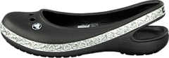 Crocs - Genna II Hearts Flat GS Black