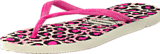 Havaianas - Slim Animals White/Rose