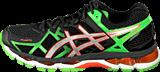 Asics - GEL-KAYANO 21 Black/Lightning/Flash Green