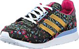 adidas Originals - Zx 500 Og W Core Black/Gold Met./Merlot