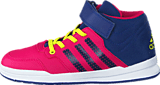 adidas Sport Performance - Jan Bs 2 Mid C Bold Pink/Unity Ink/Ftwr White