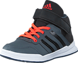 adidas Sport Performance - Jan Bs 2 Mid C Onix/Core Black/Solar Red