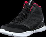Reebok - Cardio Workout Mid Rs Black/Grey/Neon Cherry/White