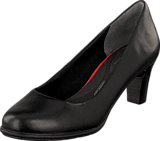 Rockport - Total Motion 60Mm Heel Black Burn Calf