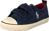Ralph Lauren Junior - Falunth Low Ez Navy Suede