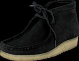Clarks - Wallabee Boot Black Sde