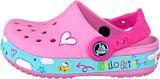 Crocs - CB Hello Kitty Plane Clog Carnation