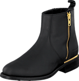 PrimeBoots - Ascot Majesty Low Black Brass