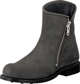 PrimeBoots - Alyssa Low Dark grey Nikel