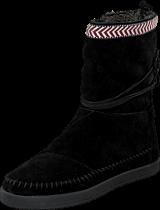 Toms - Nepal boot Black suede trim