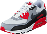 Nike - Nike Air Max 90 Essential White/Dark Grey-Wolf Grey-Blk