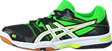 Asics - Gel-Rocket 7 Black/Green/White
