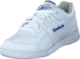 Reebok Classic - Workout Plus Wht/Royal