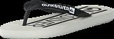 Quiksilver - Qs Java Wordmark M Sndl White/White/White