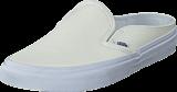 Vans - Classic Slip-On Mule (Leather) White/True White