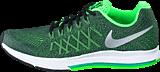 Nike - Nike Zoom Pegasus 32 (Gs) Obsidian/Mtllc Silver-Vltg Grn