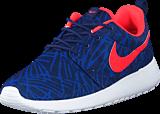 Nike - Wmns Nike Roshe One Print Lyl Bl/Brght Crmsn-Gm Ryl-Wht