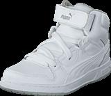 Puma - Puma Rebound Street L Jr White-White