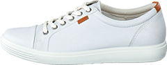 Ecco - Soft 7 Ladies Low White