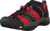 Keen - Newport H2-Kids Black/Racing Red Multi