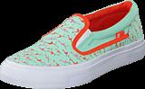 DC Shoes - Dc Kids Trase Slip-On Shoe Misty Blue