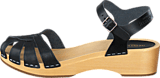 Swedish Hasbeens - Cross Debutant Black/Nature Sole