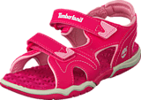 Timberland - Adventure Seeker 2 Strap Kids Hot Pink/Pink
