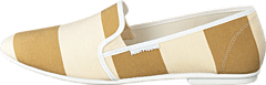 Hush Puppies - Stacy Slip Offwhite/ Taupe