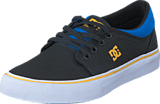DC Shoes - Trase Tx Black/Blue/Grey