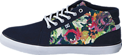 DC Shoes - Council Mid SE Navy (Flowers)