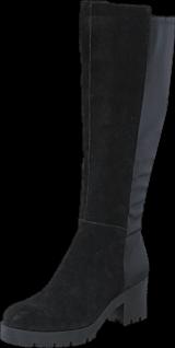 Bianco - Chunky Long Boot JJA16 Black
