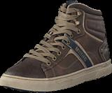 Mustang - 4108502 Men's High Top Sneaker Brown