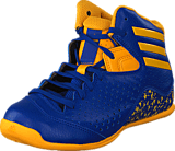 adidas Sport Performance - Nxt Lvl Spd Iv Nba Blue-Sld/Gold-Sld/Blue-Sld