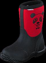 Vincent - Panda Neoprene Rasberry Red
