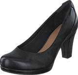 Clarks - Chorus Chic Black Leather
