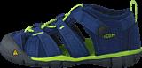 Keen - Seacamp II Cnx Tots Blue Depths/Lime