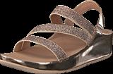 Fitflop - Crystal Z-strap Sandal Rose Gold