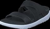 Fitflop - Loosh Crossover Slide Black